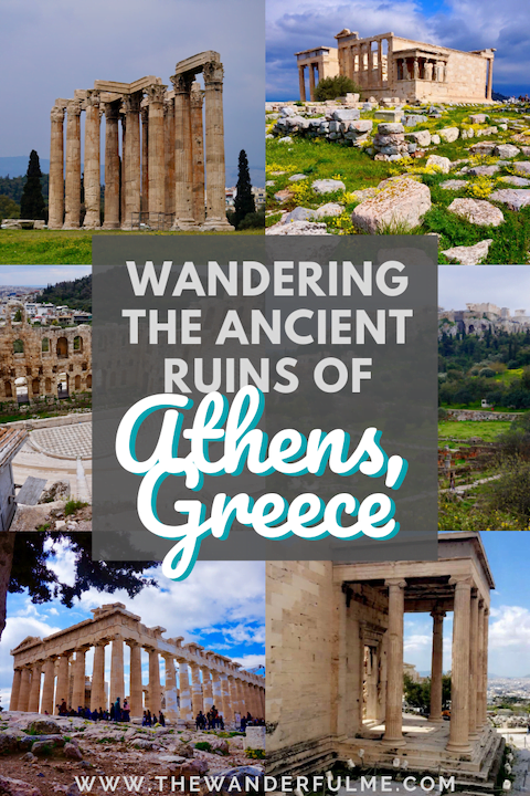 Take a stroll through history by wandering the ancient ruins of Athens! If you're visiting Greece, Athen's ruins are no doubt on your must-visit list (or at least they should be!). Here's which ruins to visit. #athens #ruins #greece