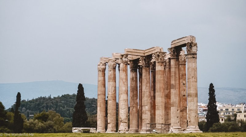 One of the ruined sections of the Temple of Zeus, a rather underrated temple if you ask me!