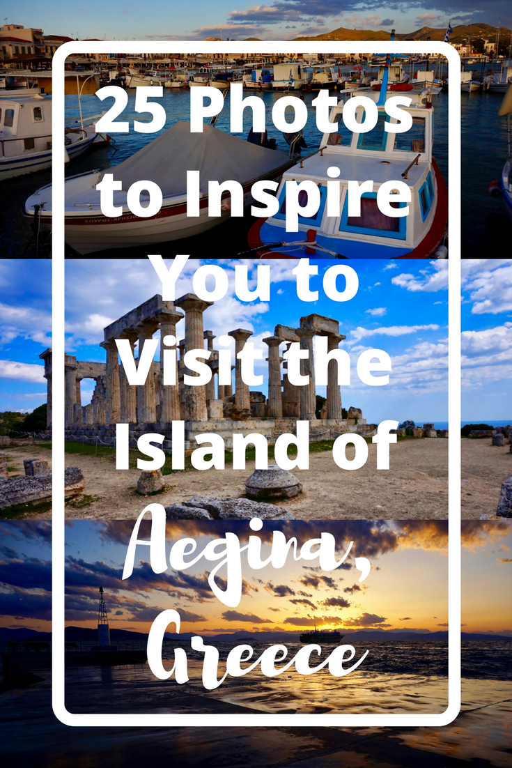 Need some travel inspiration? The gorgeous island of Aegina, just a 45 minute ferry ride from Athens, is your place to go! Here are 25 photos to inspire you to visit the island of Aegina, Greece | The Wanderful Me
