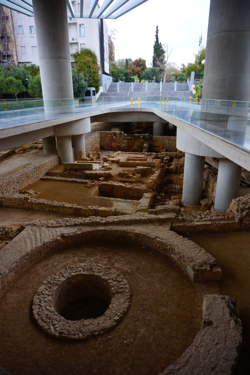 Entrance to the Acropolis Museum • 13 Remarkable Things to Do in Athens, Greece | The Wanderful Me