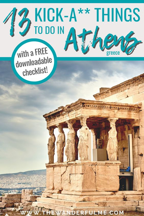 Looking for things to do in Athens, Greece? Or need some Athens travel tips? Check out this awesome list of 13 kick-a** attractions in Athens! | #athens #thingstodo #greece #europe #travel