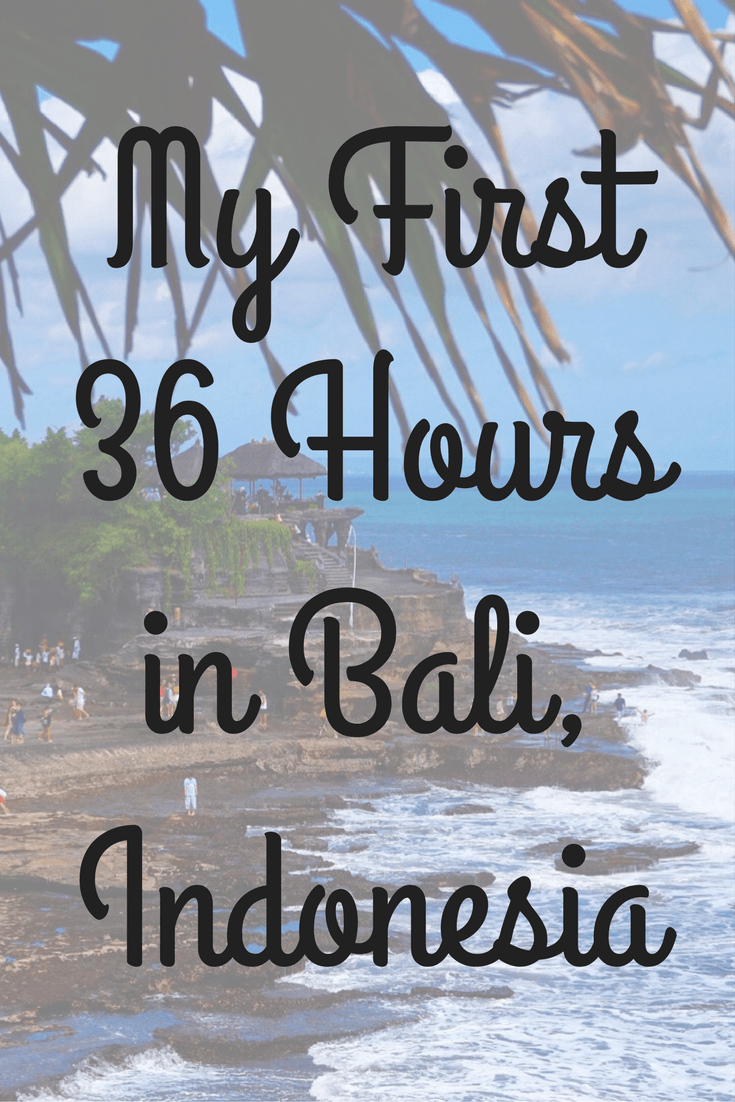 Everything I experienced during my first 36 hours in #Bali, #Indonesia, including my almost detrimental #cultureshock and first #impressions! Check it out.