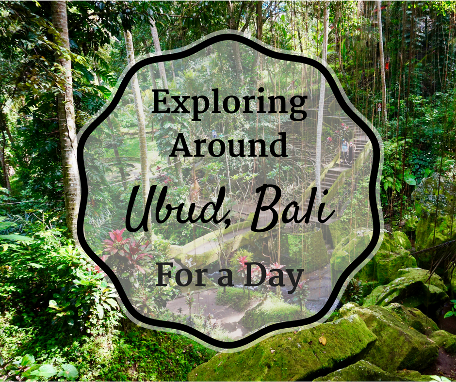 Exploring Around Ubud, Bali For a Day • The Wanderful Me