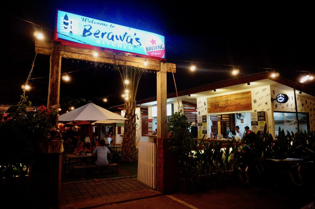 Berawa's Kitchen is a great place to grab an array of vegan snacks in Canggu, Bali.