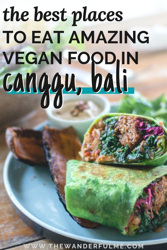 A top destination to eat vegan, Canggu in Bali has a variety of vegan & vegan-friendly cafes to discover! From vegan wraps and smoothie bowls to fresh juices and even vegan burgers, here's the ultimate vegan Canggu guide that'll have you drooling. | #vegan #canggu #bali