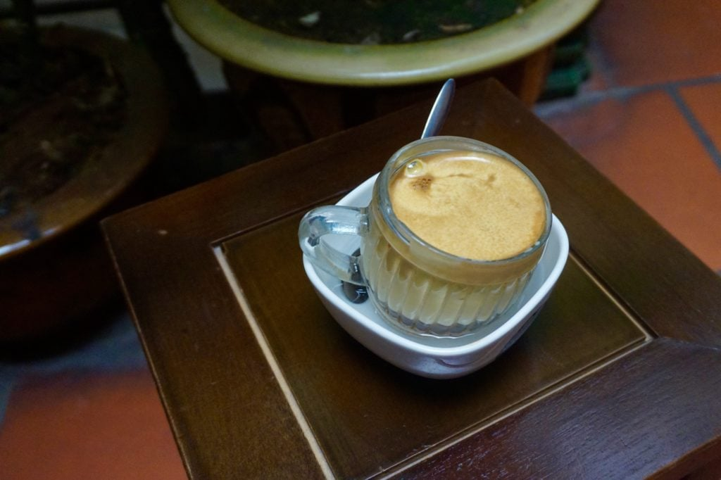 Egg Coffee • 10 Things to Do in Hanoi | The Wanderful Me