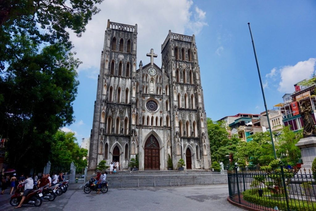 St. Joseph's Cathedra • 10 Things to Do in Hanoi | The Wanderful Me
