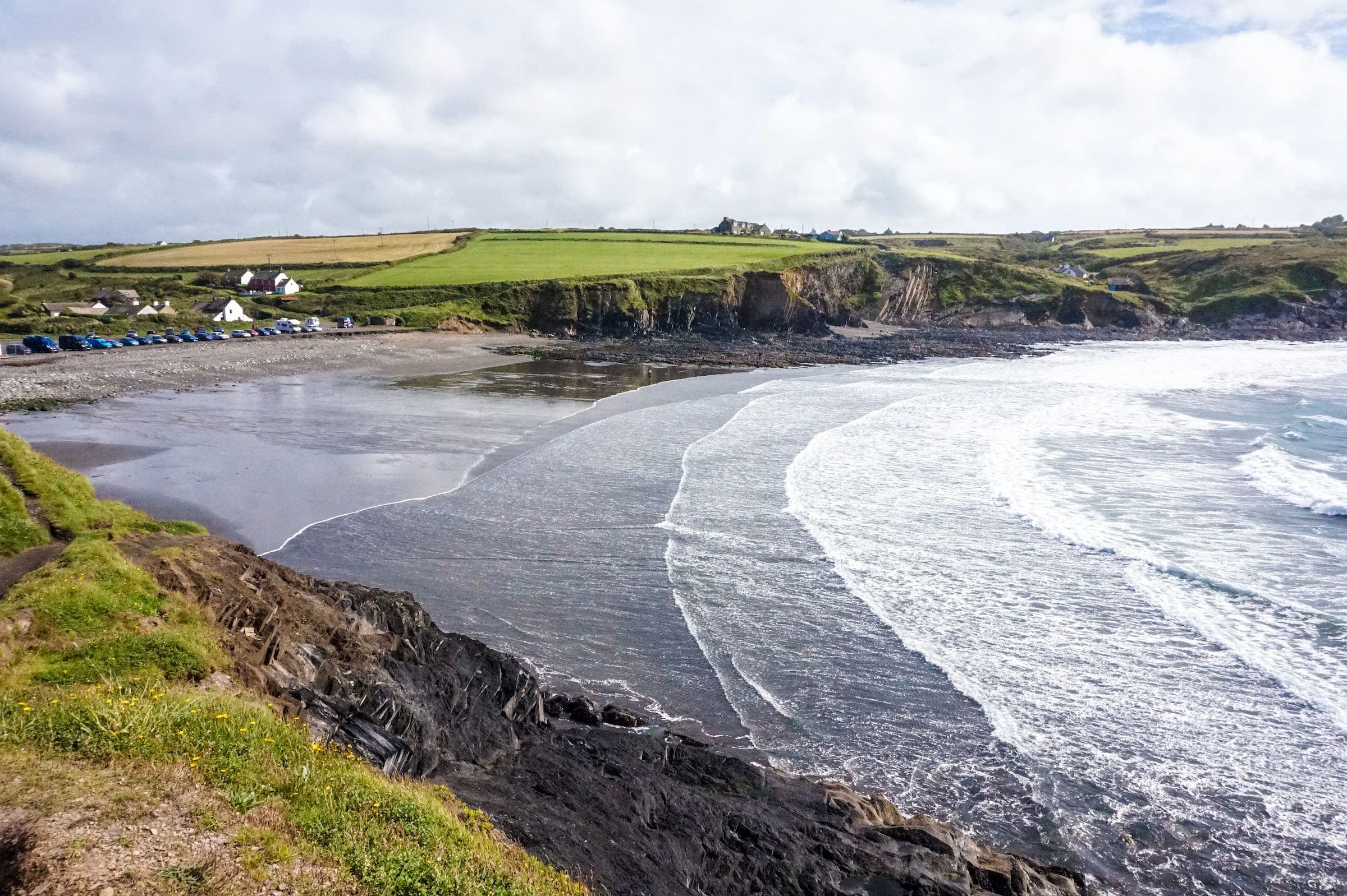 Abereiddy Beach • Road Trip Through Southern England and Wales | The Wanderful Me
