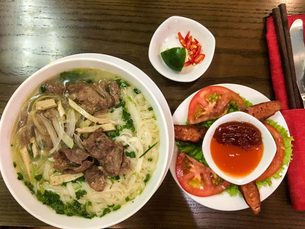 Vegan Vietnamese Pho • 16 Remarkably Useful Things to Know Before Traveling to Vietnam | The Wanderful Me