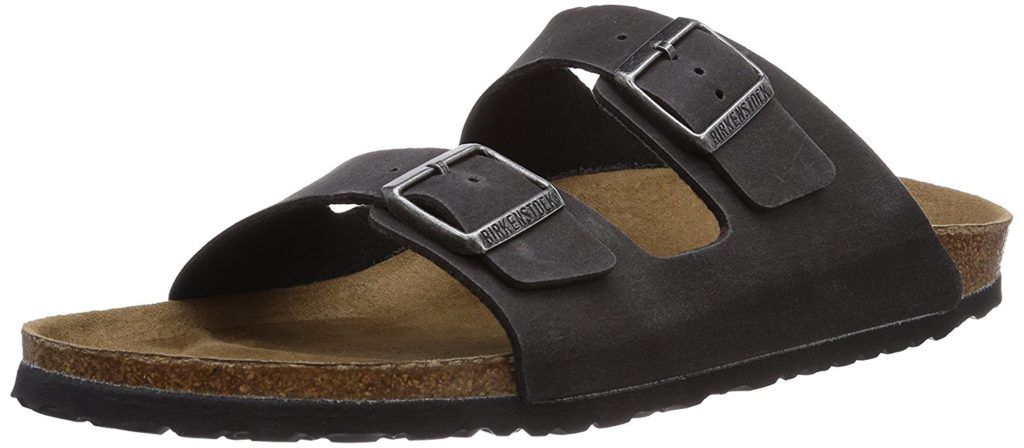 Good walking shoes, like these vegan Birkenstocks, are a must-have Europe trip essential to stay comfortable.