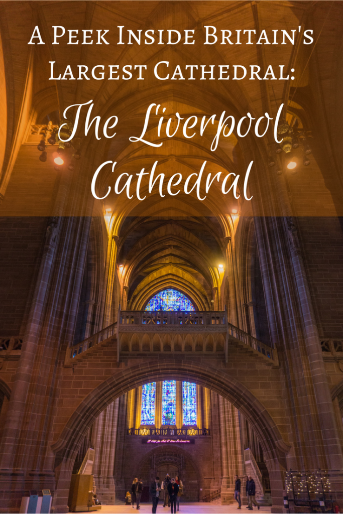 Curious to get a peek inside Britain's largest cathedral? You came to the right place! Check out these pictures of the #Liverpool #Cathedral. | #Britain #UnitedKingdom #UK #Travel