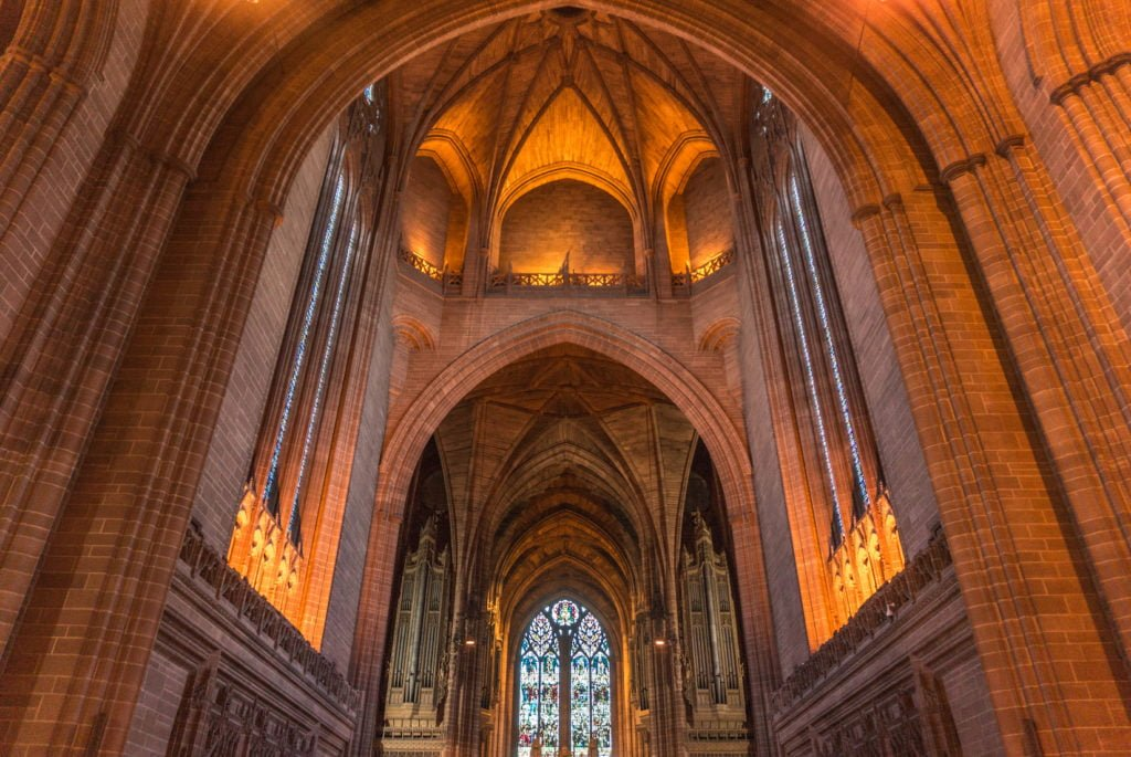 Britain's Largest Cathedral: The Liverpool Cathedral | The Wanderful Me