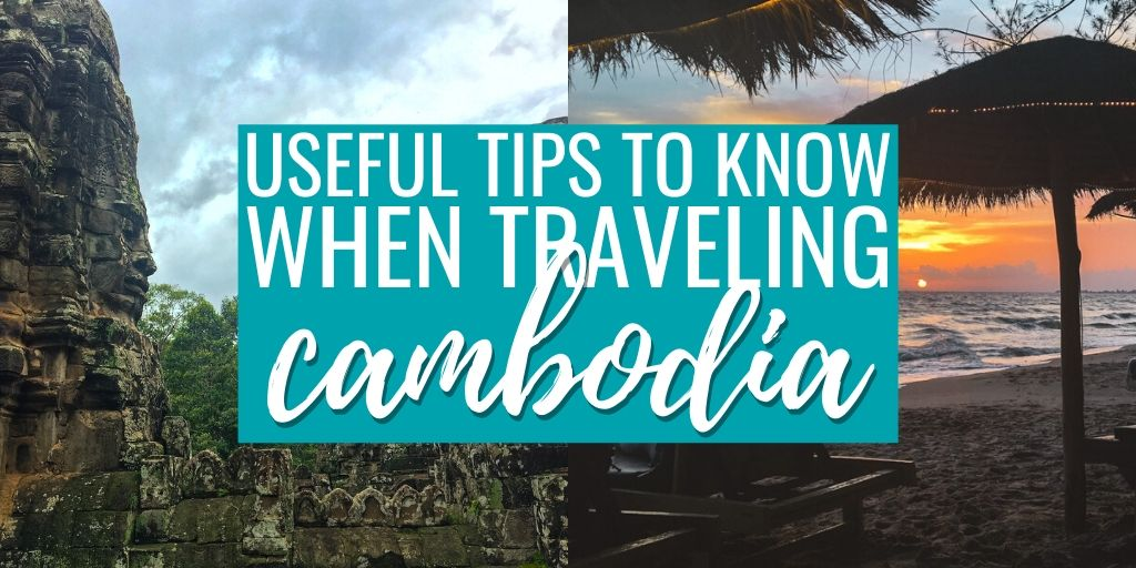 Remarkably useful things to know when traveling Cambodia in Southeast Asia.