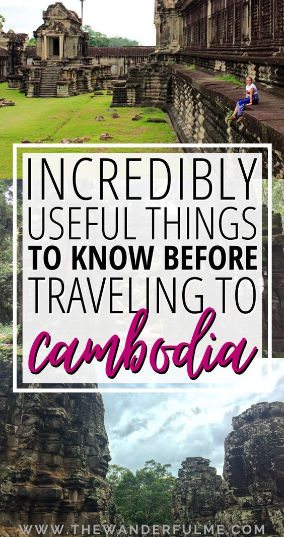 Every Cambodia travel tip you need to know before you backpack this Southeast Asia country.