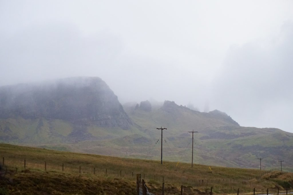 Clouded Old Mann of Storr •3-Day Tour to Skye, The Highlands, and Loch Ness | The Wanderful Me