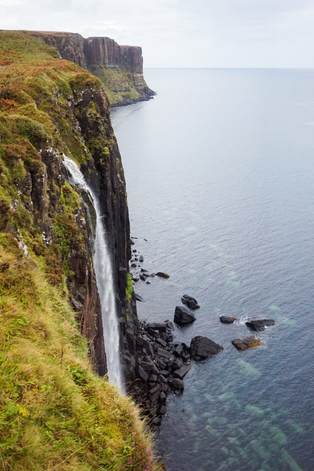 Mealt Falls and Kilt Rock • 3-Day Tour to Skye, The Highlands, and Loch Ness | The Wanderful Me