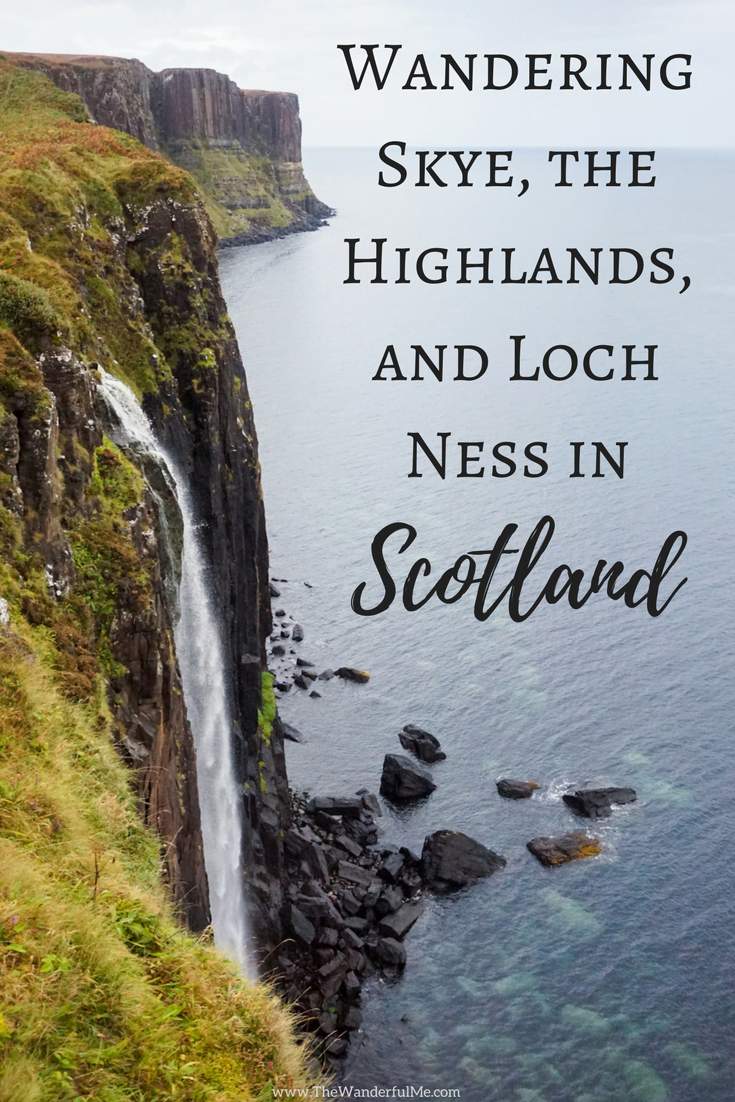 Interested to read about what a 3-day tour to #Skye, the #Highlands, and #LochNess in #Scotland is like? Cascading waterfalls, heart-stopping cliffs, rolling green hills, and picturesque castles... Check it out!