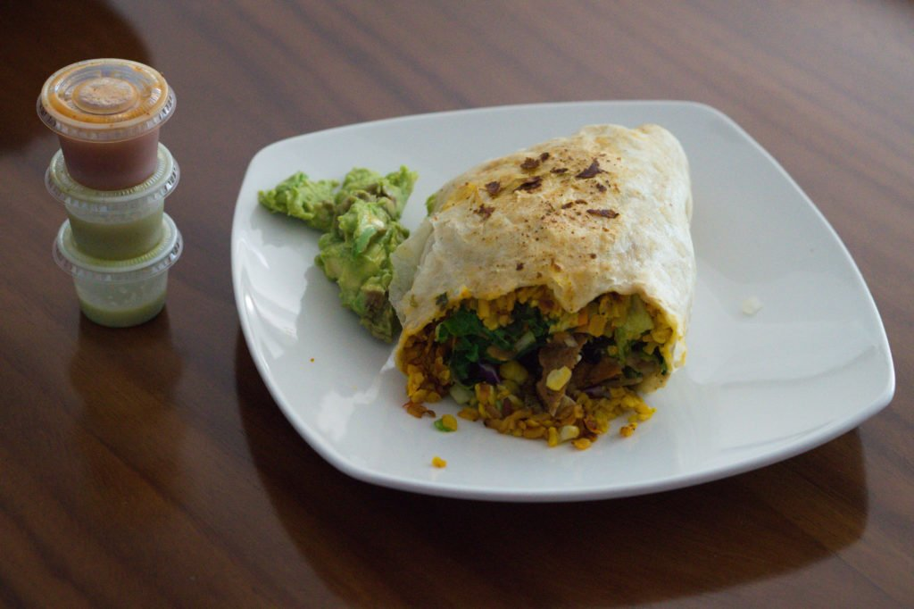 Vegan burrito • Confessions of a Vegan: The Good, Bad, Ugly, and Everything in Between | The Wanderful Me
