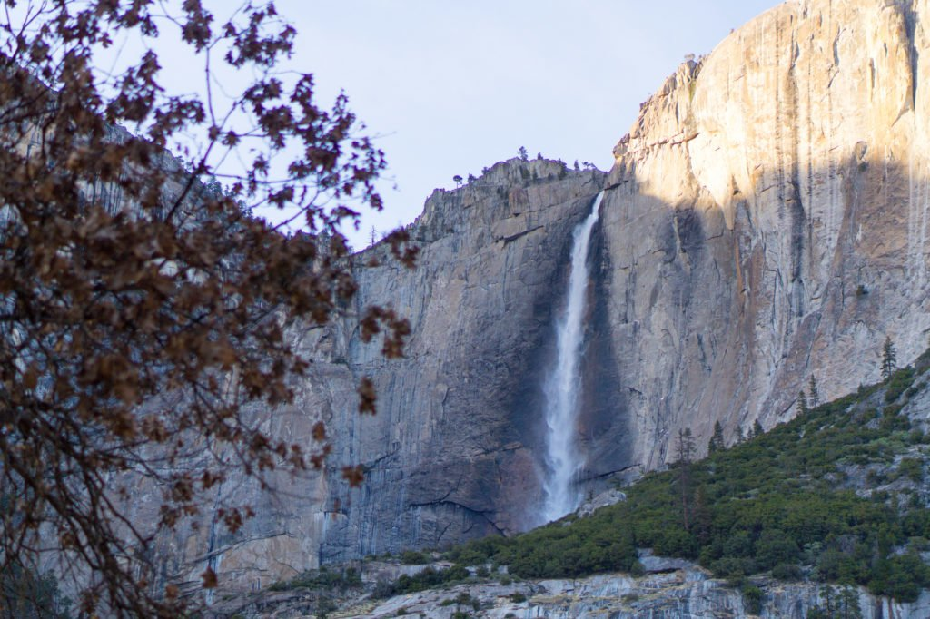 Yosemite Waterfall • Useful Things to Know Before Visiting Yosemite and Sequoia in the Winter | The Wanderful Me