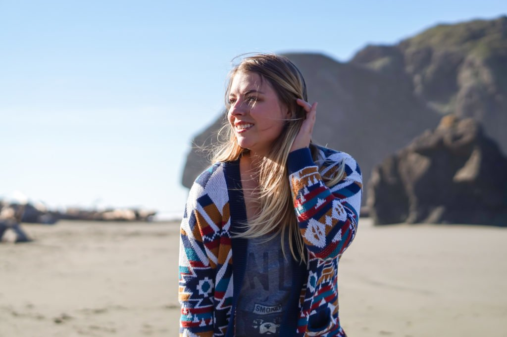 Sophie on the Beach •25 Photos to Spark Your Visit to the Oregon Coast | The Wanderful Me