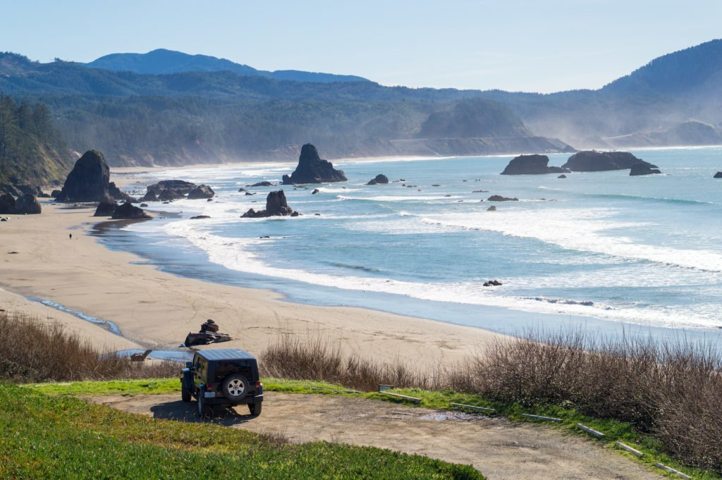 Battle Rock •25 Photos to Spark Your Visit to the Oregon Coast | The Wanderful Me