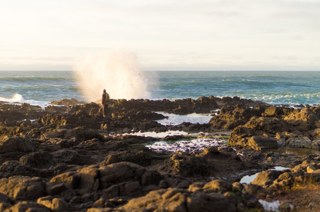 Crashing Waves •25 Photos to Spark Your Visit to the Oregon Coast | The Wanderful Me