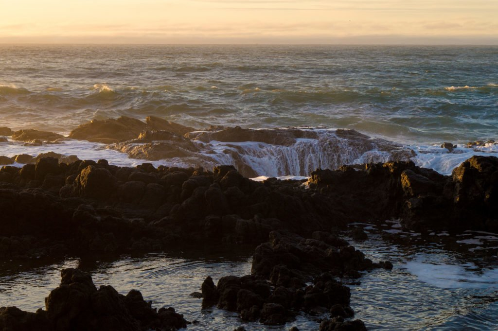 Thor's Well •25 Photos to Spark Your Visit to the Oregon Coast | The Wanderful Me