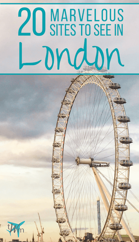 Looking for some things to do in London? Here's a comprehensive list of the 20 best attractions and sites to see in London. | #london #sitestosee #londonattractions #thingstodo #england #uk #unitedkingdom