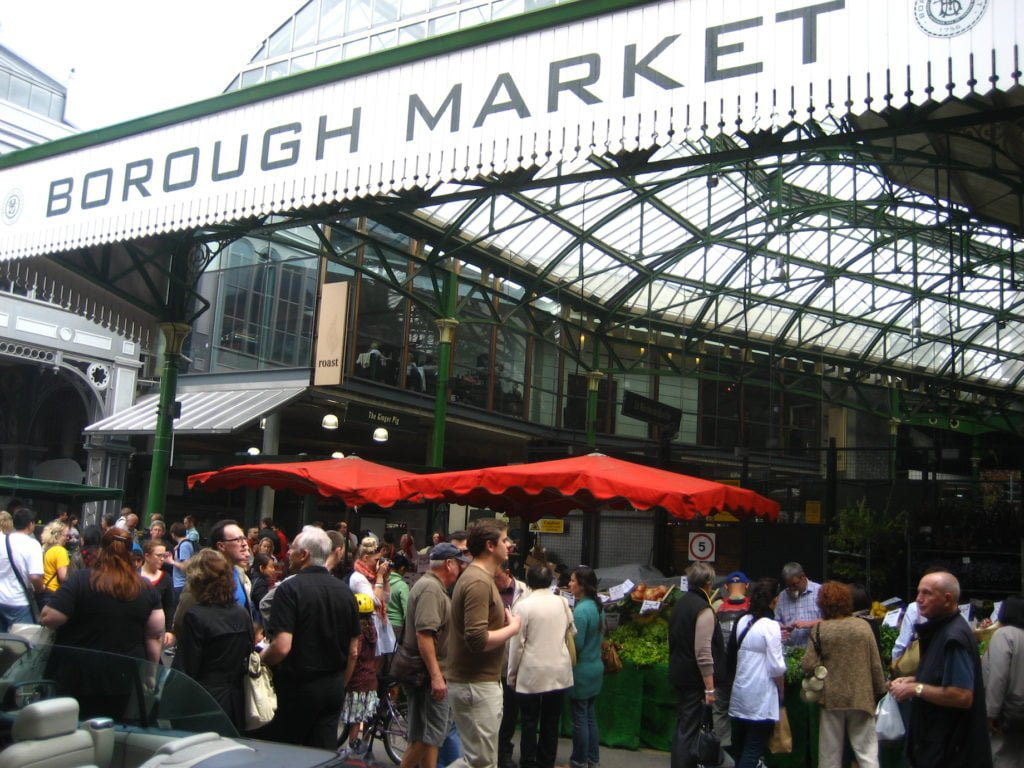 Borough Market • The 20 Best Attractions and Sites to See in London