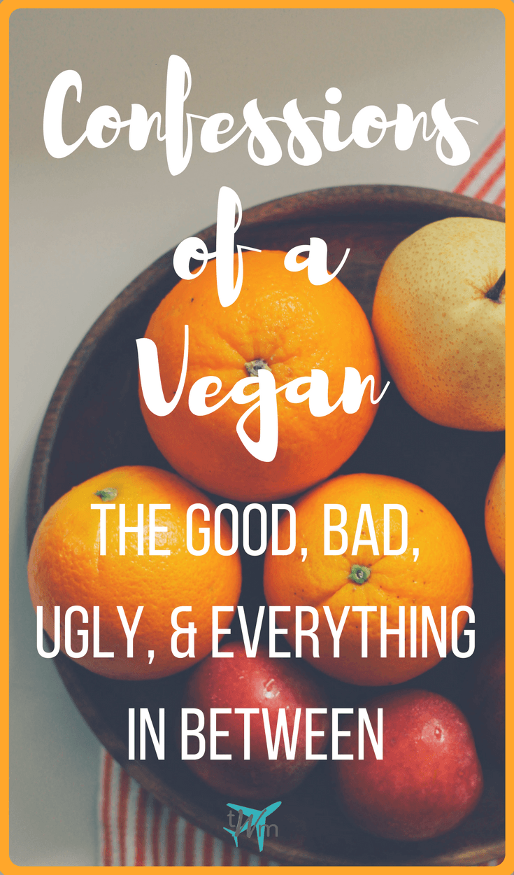 Ever wonder what it's like being a vegan? Or what thoughts run through our heads? It might not be what you think. Here are my confessions of a vegan. | #vegan #thoughts #confessions #veganism #veganpower #plantbased #veganstory