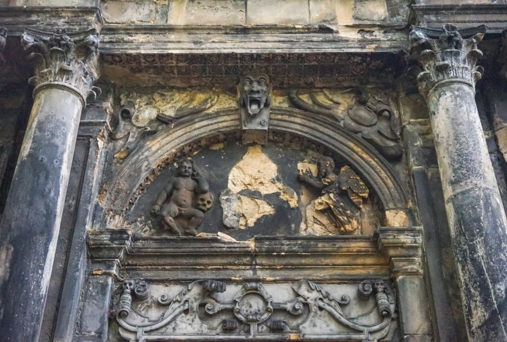 One of the Many Creepy Things at Greyfriars Kirkyard • The 3 Best Free Tours in Edinburgh, Scotland | The Wanderful Me