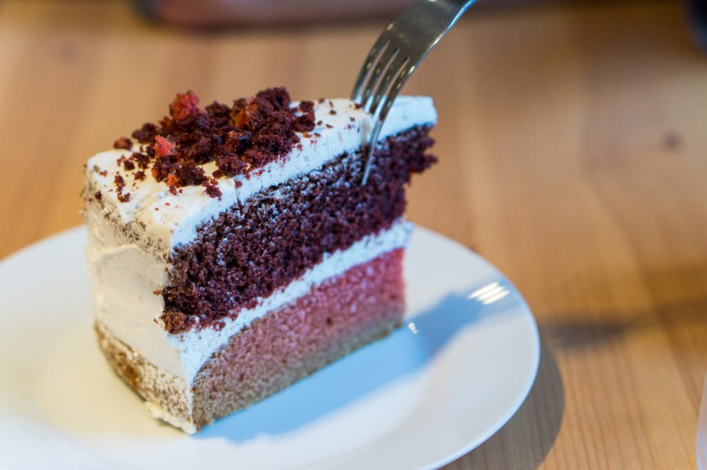 Vegan Cake. • Vegan Travel is Sustainable Tourism