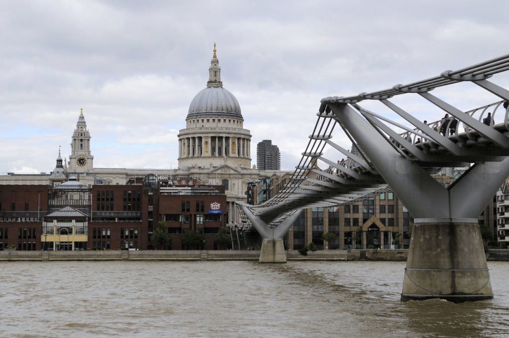 Millennium Bridge • The 20 Best Attractions and Sites to See in London