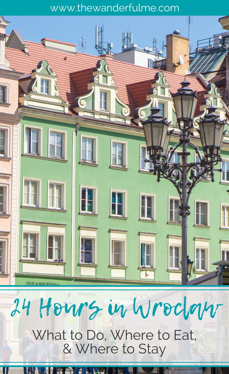 Planning a trip to the fairytale city of Wrocław, Poland? Here's the ultimate guide on how to spend 24 hours in Wroclaw; what to do, where to eat as a vegan, and where to stay. | #wroclaw #poland #polandtravel #itinerary #wroclawitinerary #travel #wroclawtravel #vegantravel #vegan