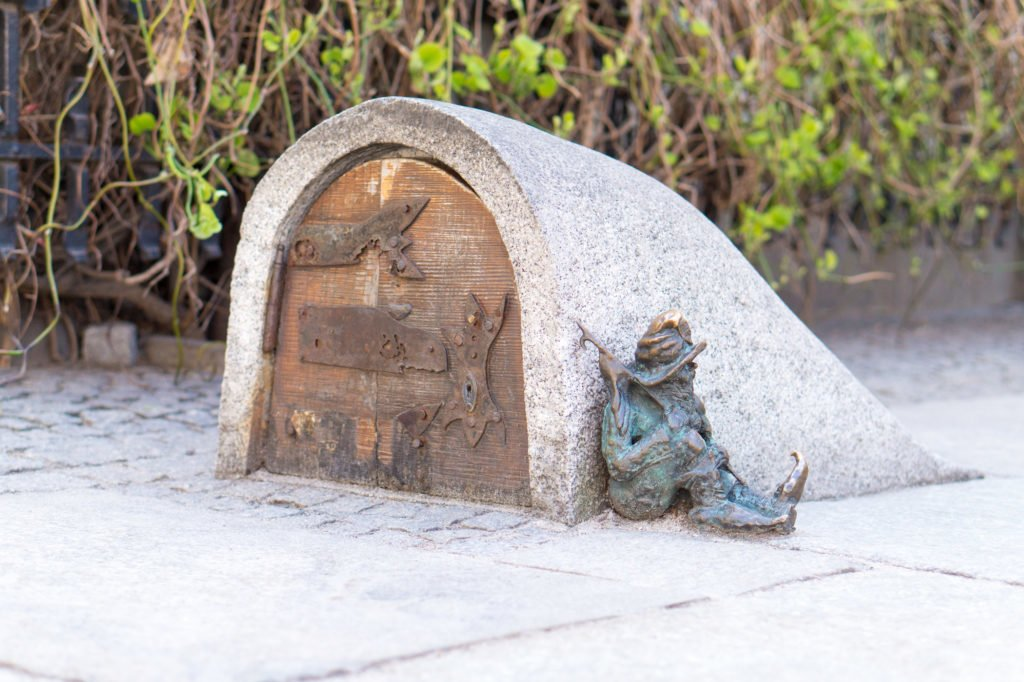 Finding gnomes around Wroclaw •24 Hours in Wroclaw, Poland
