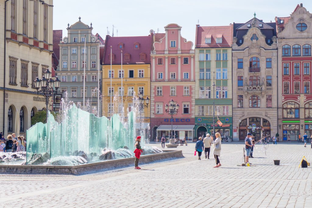 Wroclaw's Main Square •24 Hours in Wroclaw, Poland