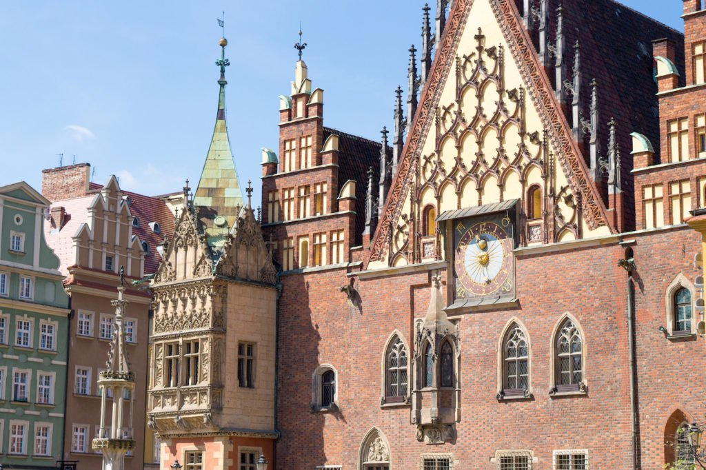 Wroclaw's Main Square Clock Tour •24 Hours in Wroclaw, Poland