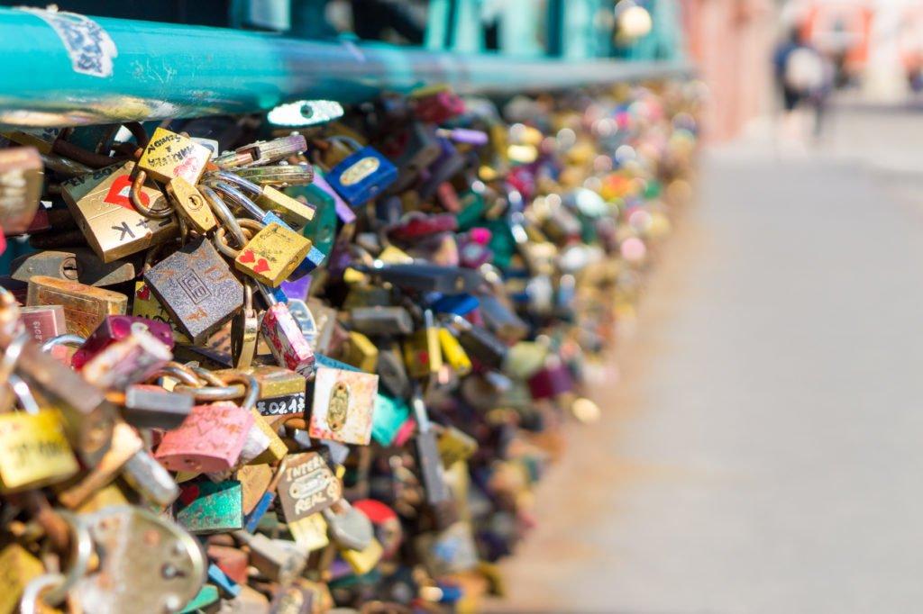 Love Lock Bridge •24 Hours in Wroclaw, Poland