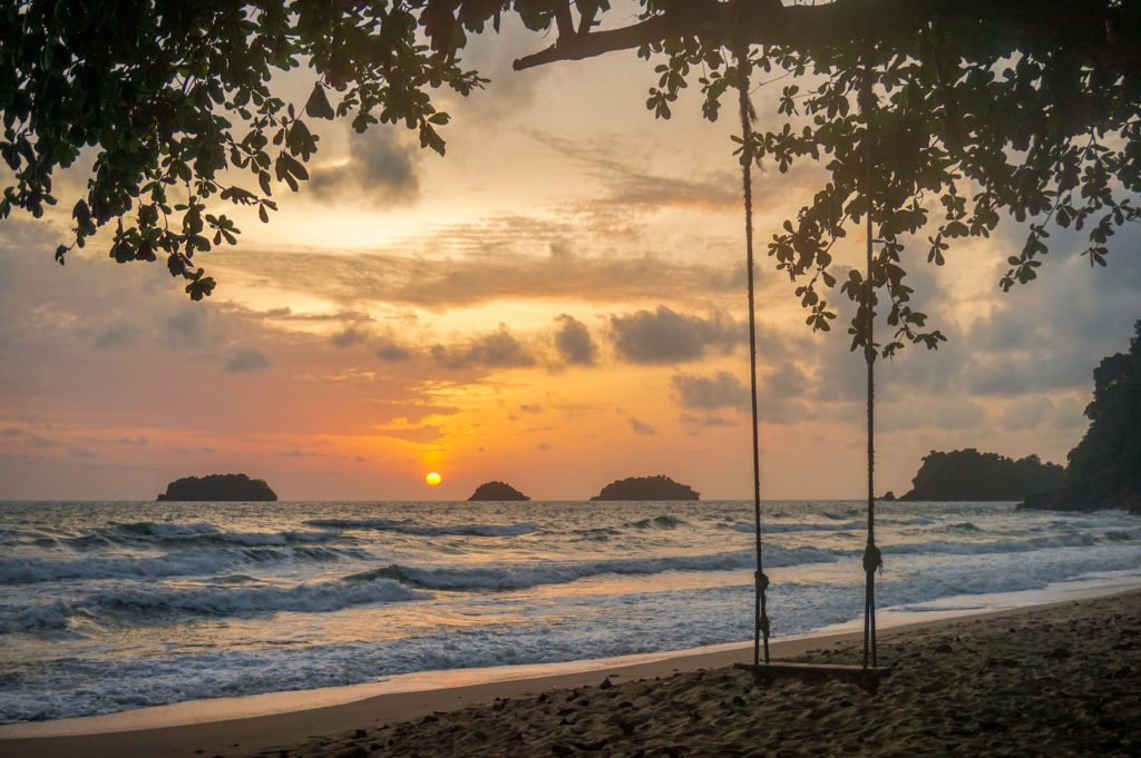 Sunset on Koh Chang • Experiencing the Generosity and Kindness of the Thai People in Koh Chang, Thailand