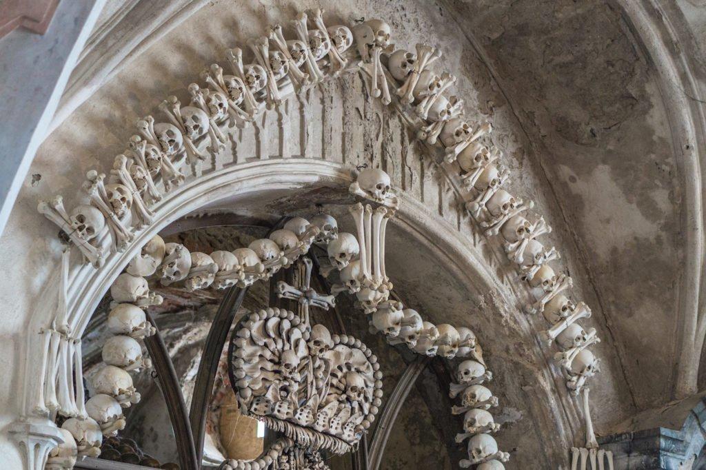 Human Bone Decorations •Bone Church, Kutna Hora
