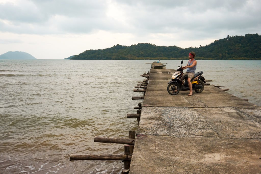 Motorbiking around Koh Chang • Experiencing the Generosity and Kindness of the Thai People in Koh Chang, Thailand