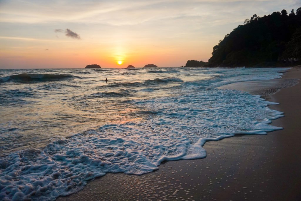 Island Sunset • Experiencing the Generosity and Kindness of the Thai People in Koh Chang, Thailand