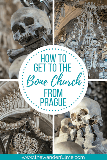 Looking to take a day trip to the Bone Church from Prague? Here's the ultimate guide on getting from Prague to Kutna Hora -- simple, easy, & cheap!   #prague #bonechurch #kutnahora #travel #traveltips #travelguide #czechrepublic
