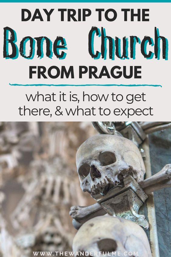 Day Trip to the Bone Church from Prague / Prague Day Trips / Prague Travel / Czech Republic Travel / Kutna Hora Bone Church / Things to Do in Prague / Places to Visit in Prague / Prague Itinerary