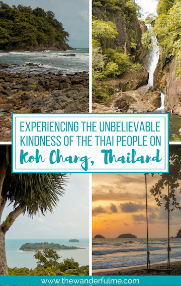 Do you love a good story? Here's a tale about experiencing the unbelievable kindness of the Thai people on the island of Koh Chang in Thailand. You won't believe what happened! | #thailand #storyteller #kindness #cultureshock #friendlythai #thailandtravel #travel #rtw #worldtravel #inspiration #asia #southeastasia