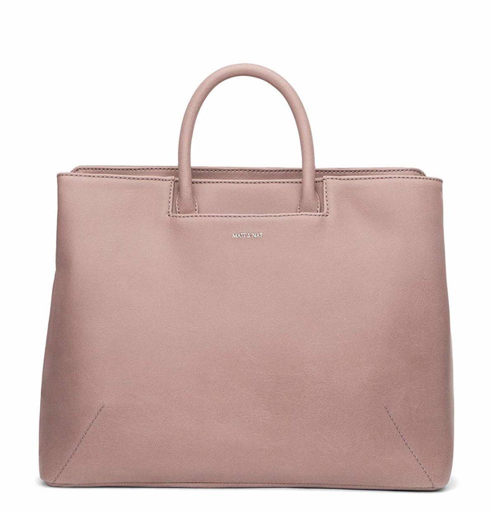 Matt & Nat Kintla Vintage Handbag is a great vegan travel tote to pack your carry-on essentials in.