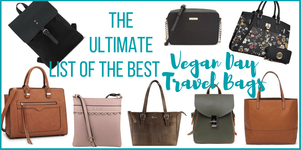 The Ultimate List of the Best Vegan Day Travel Bags