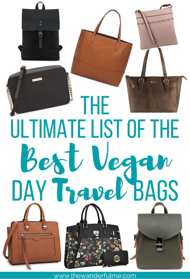 Searching for the ultimate travel daypack? Check out my list of the best vegan day travel bags! | #vegantravel #veganlife #vegan #vegantips #traveltips #packingtips #veganbags #sustainabletravel #ecofriendly