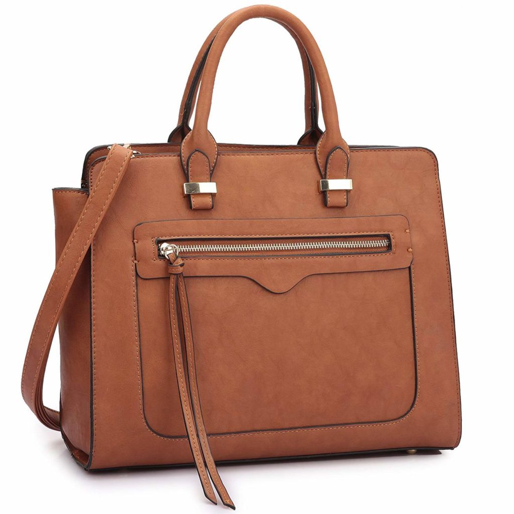 Dasein Vegan Leather Handbag: Ultimate List of the Best Vegan Travel Bags