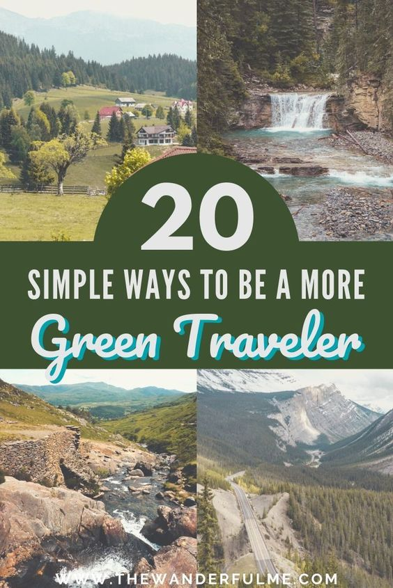 If you're wanting to implement sustainable travel, it's easier than you think! With these simple tips, you can start practicing ecotourism and being a green traveler in no time! | #ecotourism #greentravel #sustainable #travel #tips